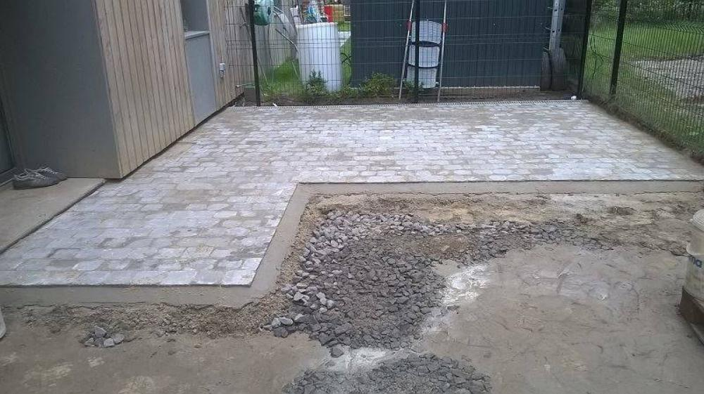 Cr ation de terrasse douai valenciennes paysagiste for Garage du faubourg lille